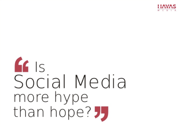 Is Social Media more Hype than Hope